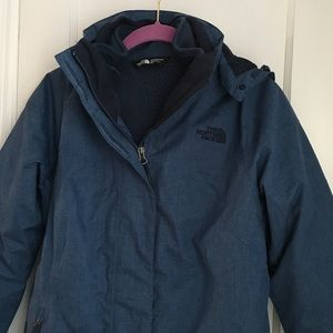North Face KALISPELL TRICLIMATE JACKET, Small for sale